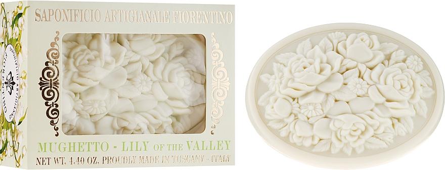 """Prírodné mydlo """"Konvalinka"""" - Saponificio Artigianale Fiorentino Botticelli Lily Of The Valley Soap"""