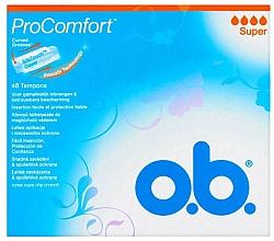 Voňavky, Parfémy, kozmetika Tampóny, 48 ks - O.b. ProComfort Super