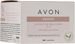 Voňavky, Parfémy, kozmetika Denný ochranný krém na tvár s extraktom zo zeleného čaju - Avon Ageless Protacting Day Cream SPF 30