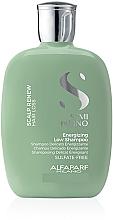 Voňavky, Parfémy, kozmetika Regeneračný šampón na spevnenie vlasov - Alfaparf Semi Di Lino Scalp Renew Energizing Low Shampoo