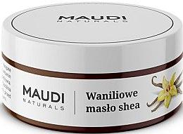 """Voňavky, Parfémy, kozmetika Nerafinované bambucké maslo """"Vanilka"""" - Maudi"""