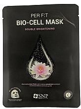Voňavky, Parfémy, kozmetika Biocelulózová maska s extraktom z lotosu a glutatiónu - SNP Brightening Bio-cell Mask