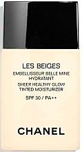 Voňavky, Parfémy, kozmetika Hydratačný odtieň tekutín s prirodzeným žiarením - Chanel Les Beiges Sheer Healthy Glow SPF 30/PA++