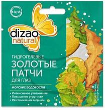 """Voňavky, Parfémy, kozmetika Hydrogélové zlaté náplasti pod oči """"Morské riasy"""" - Dizao"""