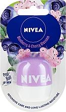 Voňavky, Parfémy, kozmetika Balzam na pery - Nivea Pop-Ball Blueberry & Cherry Blossom Lip Balm