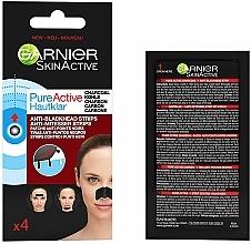 Voňavky, Parfémy, kozmetika Pásiky proti čiernym bodkám - Garnier Skin Active Pure Active Anti-Blackhead Charcoal Strips