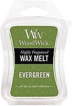 Voňavky, Parfémy, kozmetika Voňavý vosk - WoodWick Wax Melt Evergreen