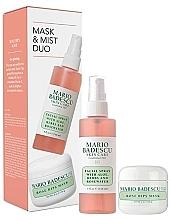 Voňavky, Parfémy, kozmetika Sada - Mario Badescu Rose Mask & Mist Duo Set (mask/56g+spray/118ml)