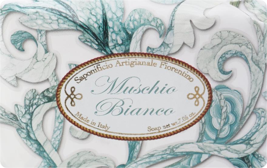 """Toaletné mydlo """"Biely pižmo"""" - Saponificio Artigianale Fiorentino White Musk"""