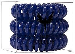 Voňavky, Parfémy, kozmetika Gumičky na vlasy, tmavomodré - HH Simonsen Hair Cuddles Dark Blue