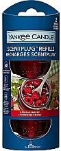 """Voňavky, Parfémy, kozmetika Náhradný blok """"Červená malina"""" do elektrickej aromatickej lampy - Yankee Candle Red Raspberry"""