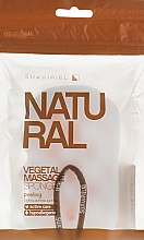 Voňavky, Parfémy, kozmetika Hubka masážna, celulóza-polyuretán - Suavipiel Natural Vegetal Massage Sponge