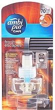 """Voňavky, Parfémy, kozmetika Náplň do osviežovača vzduchu do auta """"Anti tabak"""" - Ambi Pur Air Freshener Refill Anti-Tobacco"""
