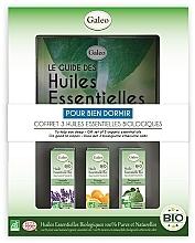 """Voňavky, Parfémy, kozmetika Sada éterických olejov """"Sada éterických olejov"""" - Galeo To Help You Sleep Gift Set (ess/oil/3x10ml)"""