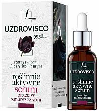 Voňavky, Parfémy, kozmetika Aktívne hydratačné sérum proti vráskam - Uzdrovisco Black Tulip