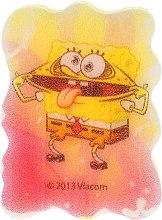 """Voňavky, Parfémy, kozmetika Špongia do kúpeľa """"Sponge Bob"""" žlto-ružová - Suavipiel Sponge Bob Bath Sponge"""