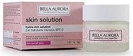 Voňavky, Parfémy, kozmetika Hydratačný krém na tvár - Bella Aurora Crema Hydra Rich Solution 24h