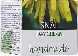 Voňavky, Parfémy, kozmetika Denný krém na tvár so slimačím extraktom - Hristina Cosmetics Handmade Snail Day Cream