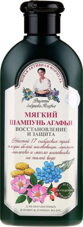 Agafín jemný šampón Obnova a Ochrana - Recepty babičky Agafy