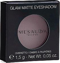 Voňavky, Parfémy, kozmetika Matné tiene - Mesauda Milano Glam Matte Eye Shadow