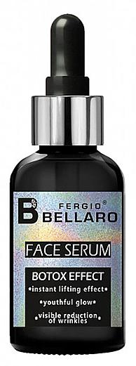 Sérum na tvár s botoxovým účinkom - Fergio Bellaro Botox Effect Face Serum White