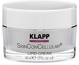 Voňavky, Parfémy, kozmetika Výživný krém na tvár - Klapp Skin Con Cellular Lipid Cream