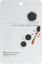 Voňavky, Parfémy, kozmetika Textilná maska na tvár s extraktom z čiernej fazule - Eunyul Black Bean Daily Care Sheet Mask