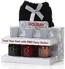 Voňavky, Parfémy, kozmetika Sada lakov - Orly Holiday Soiree Treat Your Feet Set (nail/3x18ml + bag)