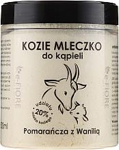"""Voňavky, Parfémy, kozmetika Kozie mlieko do kúpeľa """"Pomaranč a Vanilka"""" - E-Fiore Orange And Vanilla Bath Milk"""