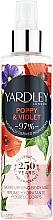 Voňavky, Parfémy, kozmetika Yardley Poppy & Violet - Telový sprej