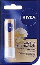 """Voňavky, Parfémy, kozmetika Balzam na pery """"Vanilkový dezert"""" - Nivea Vanilla Buttercream"""