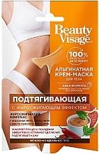 Voňavky, Parfémy, kozmetika Alginátová krémová maska na telo, spevňujúca - Fito Cosmetic Beauty Visage
