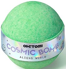 Voňavky, Parfémy, kozmetika Šumivá kúpeľová bomba - Oh!Tomi Cosmic Bomb Aliens World