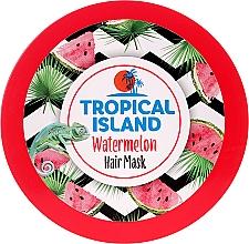 """Voňavky, Parfémy, kozmetika Maska na vlasy """"Melón"""" - Marion Tropical Island Watermelon Hair Mask"""