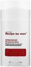 Voňavky, Parfémy, kozmetika Antiperspiračný dezodorant - Recipe For Men Antiperspirant Deodorant Stick