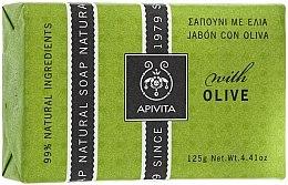 """Voňavky, Parfémy, kozmetika Mydlo """"Olivy"""" - Apivita Natural Soap with Olive"""