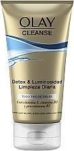 Voňavky, Parfémy, kozmetika Čistiaci gélový scrub - Olay Cleanse Detox & Luminosity Facial Cleansing Gel