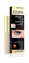 Voňavky, Parfémy, kozmetika Korektor na oči s arganovým olejom 8v1 - Eveline Cosmetics Argan Oil