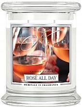 Voňavky, Parfémy, kozmetika Vonná sviečka v pohári - Kringle Candle Rose All Day