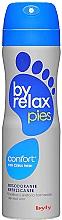 Voňavky, Parfémy, kozmetika Osviežujúci dezodorant na nohy - Byly Byrelax Comfort With Citrus Fresh Feet Deo Spray