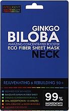 Voňavky, Parfémy, kozmetika Expresná maska na krk - Beauty Face IST Rejuvenating & Rebuilding Neck Mask Ginkgo Biloba