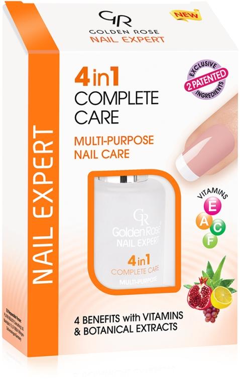 Komplexná starostlivosť o nechty - Golden Rose Nail Expert 4 in 1 Complete Care