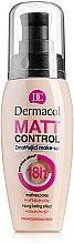Voňavky, Parfémy, kozmetika Zmatňujúci make-up - Dermacol Matt Control