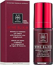 Voňavky, Parfémy, kozmetika Lifting-sérum proti vráskam s polyfenolmi vína Santorini - Apivita Wine Elixir Wrinkle And Firmness Lift Serum