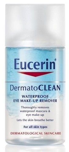 Bifázický odstraňovač očného make-upu - Eucerin DermatoClean Waterproof Eye Make-Up Remover — Obrázky N1