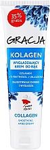 Voňavky, Parfémy, kozmetika Vyhladzujúci krém na ruky s kolagénom - Gracja Collagen Hand Cream