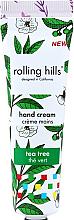 """Voňavky, Parfémy, kozmetika Krém na ruky """"Čajovník"""" - Rolling Hills Tea Tree Hand Cream"""
