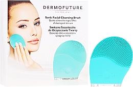 Voňavky, Parfémy, kozmetika Kefa na čistenie tváre, modrá - Dermofuture Technology