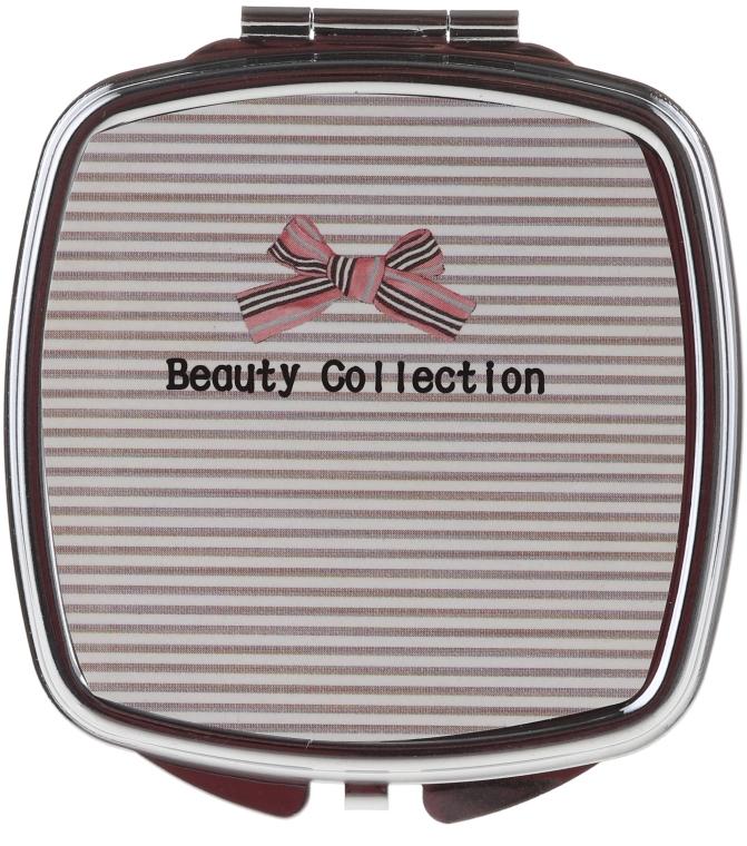 Štvorcové zrkadlo 85635, pruhované - Top Choice Beauty Collection Mirror — Obrázky N1