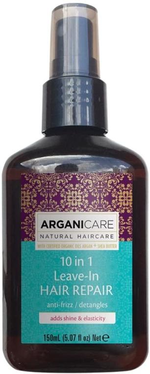 Sérum na vlasy 10 v 1 - Arganicare Shea Butter 10 in 1 Leave-In Hair Repair Anti-Frizz